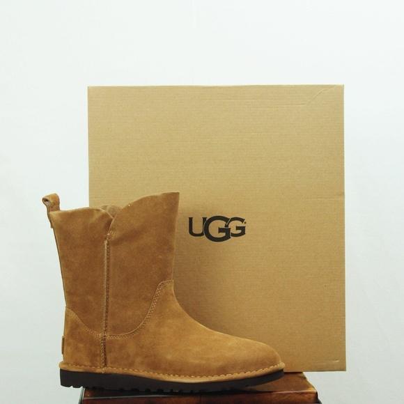 6ae0165d1f8 UGG Alida 1017533 9 Chestnut Suede Boot NWT